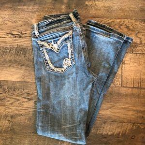 LA idol jeans, size 13, stretch